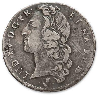 Demi écu de Béarn au bandeau. 1746. Pau....