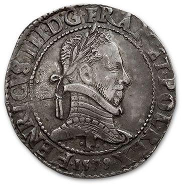 Franc au col plat. 1579. Angers. D. 1130....