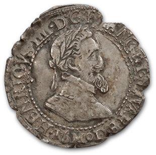 Quart de franc. 1601. Toulouse. D. 1213A....