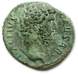 AELIUS (136-138) As. R/ La Fortune debout...