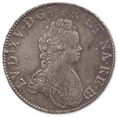 Écu vertugadin de Béarn. 1716. Pau. D. 1651....