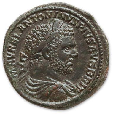 CARACALLA (198-217) Sesterce. Rome (213)....