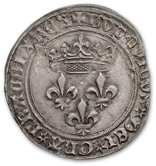LOUIS XI (1461-1483) Gros de Roi. Tours....