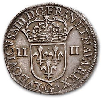 Quart d'écu, 1er type. 1642. D. 1332B. S...