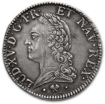 Écu à la vieille tête. 1774. Bayonne. D....