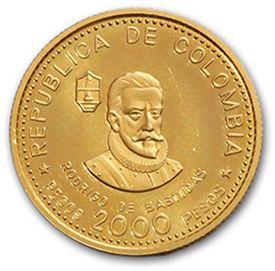 2000 Peso or. 1975. 1000 peso or. 1973. Fr....