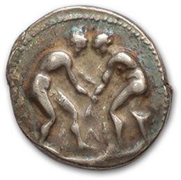 PAMPHYLIE: Aspendos (400-370 av. J.-C.) Statère....