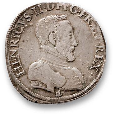 Teston du Dauphiné. 1556. Grenoble. D. 992....