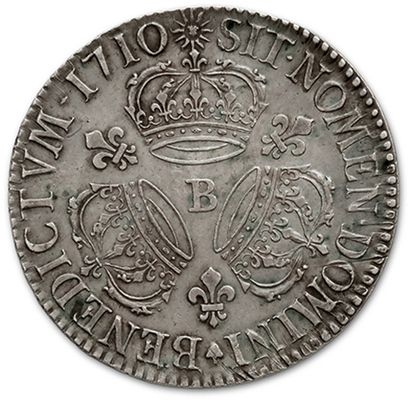 Shield with three crowns. 1710. Rouen. D. 1568. TTB to superb.