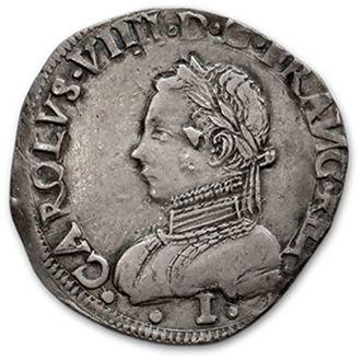 Teston, 4e type. 1562. Limoges. D. 1071....