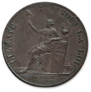 Sol aux balances: 4 exemplaires. 1793I, 1793BB,...