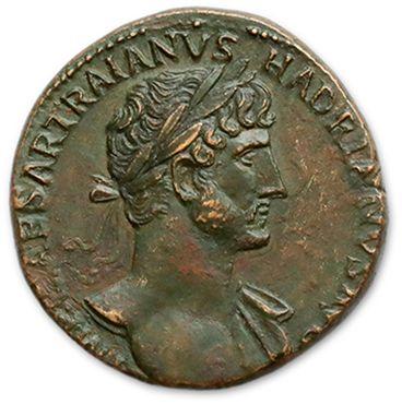 HADRIEN (117-138) Sesterce. Rome (119). Son...