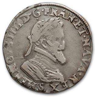 Demi franc: 4 exemplaires. 1598 Toulouse,...