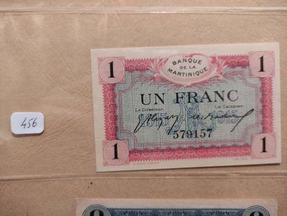 MARTINIQUE Billet de 1 F 1915 (P. 10) Sp...