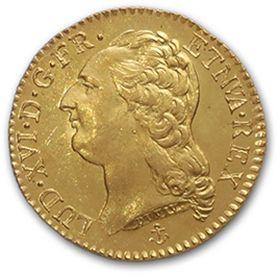 Louis d'or au buste nu. 1788. La Rochelle....