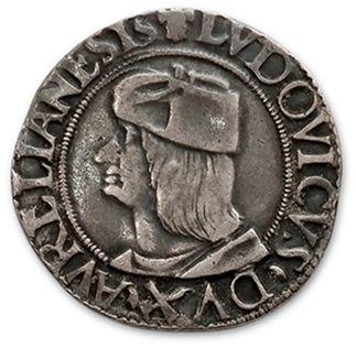 MONNAIES FRAPPÉES EN ITALIE ASTI: Louis II...
