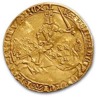 CHARLES V (1364-1380) Franc à cheval du Dauphiné....