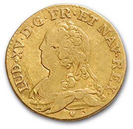 Louis d'or aux lunettes. 1729. D. 1640. TB.