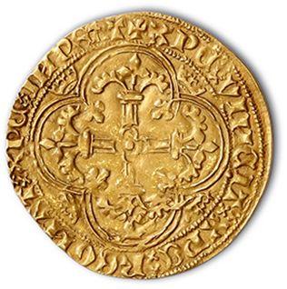 Royal d'or. 3,71 g. D. 455. TTB.