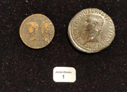 NÉRON DRUSUS (38-9 av. J.-C.) Sesterce. Rome....