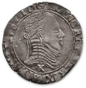 LA LIGUE: demi franc. 1591. Saint-Dizier....
