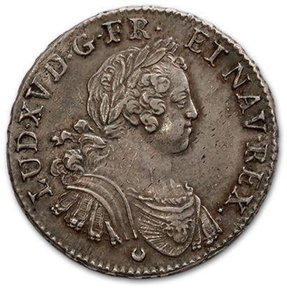 Écu aux huit L. 1725. Tours. D. 1670. Presque...