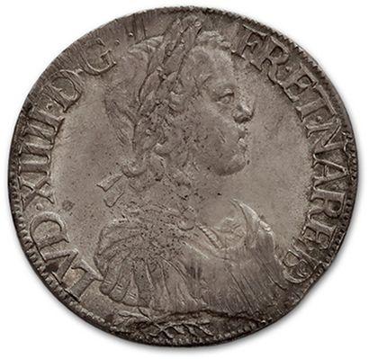 Écu de Béarn à la mèche longue. 1651. Pau....