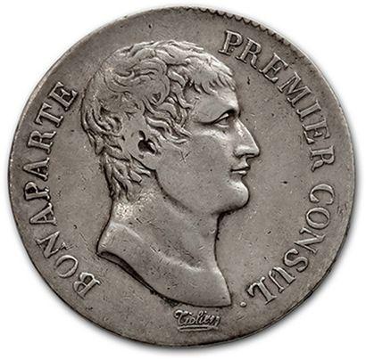 CONSULAT (1799-1804): 5 francs: 2 exemplaires....