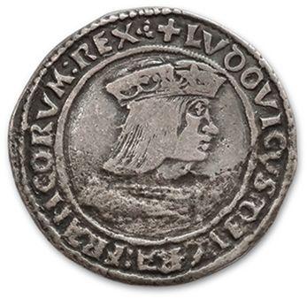 LOUIS XII (1498-1514) Teston. Lyon. D. 660....