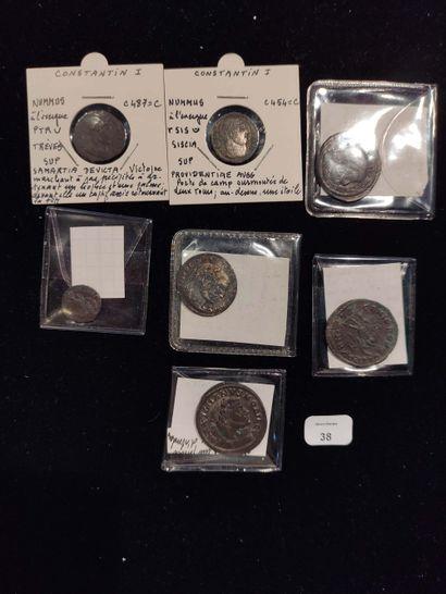 Antoninian: 6 copies. Probus (3 copies) C. 37, 121 and 252 - Numerian C. 83 - Diocletian...