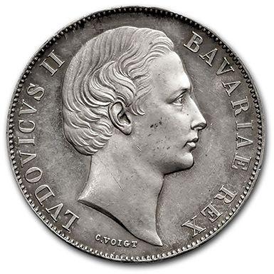 ALLEMAGNE Bavière: Louis II (1864-1886) Thaler....