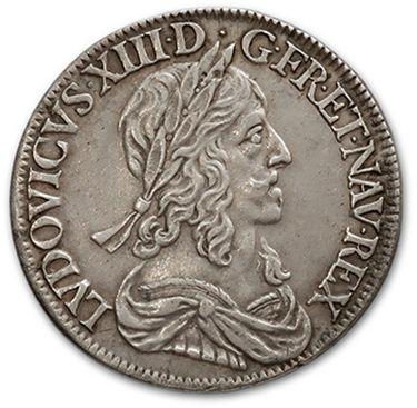 Quart d'écu, 1er type. 1643. Montpellier....