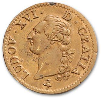 LOUIS XVI (1774-1793) Sol. 1791. Paris. D....