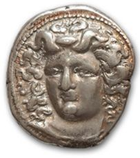 THESSALIE: Larissa (395-344 av. J.-C.) Drachme....