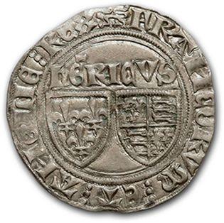 CHARLES VI (1380-1422): Florette: 2 exemplaires dont un exemplaire de St André de...