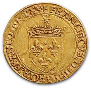 FRANÇOIS Ier (1515-1547) Écu d'or au soleil,...