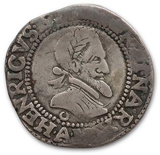 HENRI IV (1589-1610) Demi franc. 159(3)....
