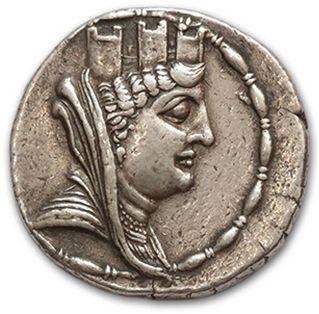 ROYAUME SÉLEUCIDE: Antiochus VI (145-142...