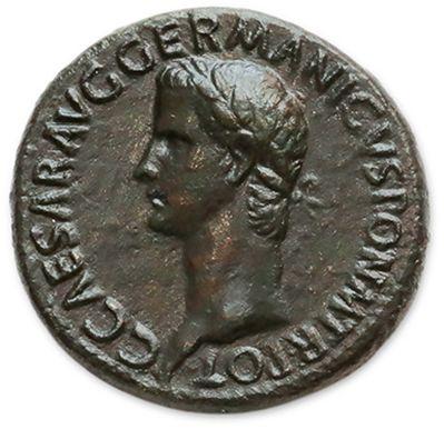 CALIGULA (37-41) Sesterce. Rome (39-40)....