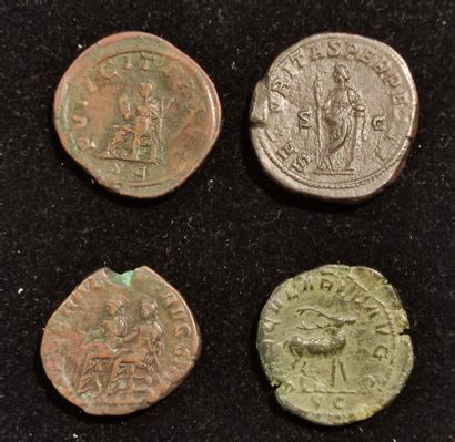 GORDIAN III (238-244): Sesterce. R/ Security from the left. Regrave. PHILIPPE I...