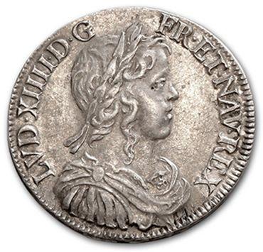 HENRI IV: Quart d'écu, 2e type. 1606. LOUIS...