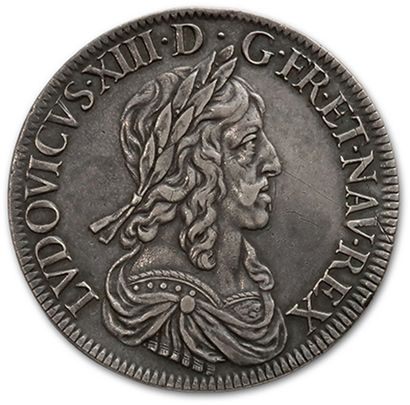 Écu de 60 sols, 2e poinçon de Warin. 1643....