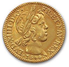 LOUIS XIV (1643-1715) Demi louis d'or à la...