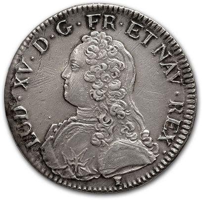 Écu aux rameaux d'olivier. 1738. Rennes....