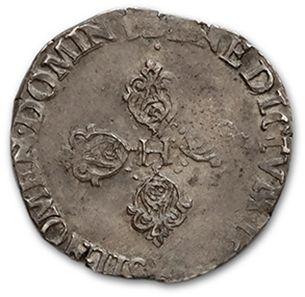 Demi franc. 1604. Rouen. D. 1212A. Très bel exemplaire