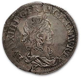 Demi franc, 15e type. 1641. Grenoble. D....