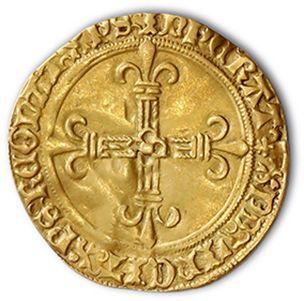 Écu d'or au soleil (Pt 8e). D. 575A. TTB.