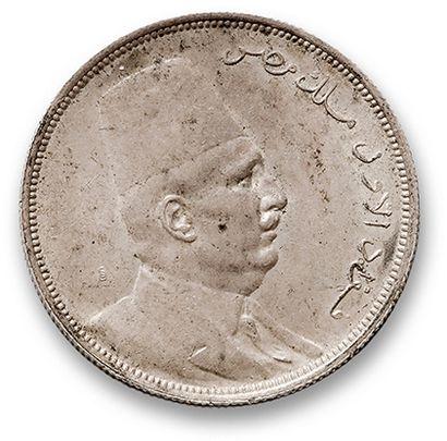 Fouad Ier (1922-1936) Dix piastres argent....