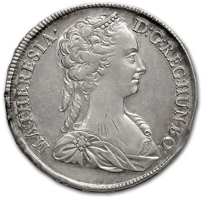 Marie-Thérèse (1740-1780) Thaler. 1742. Kremmitz....