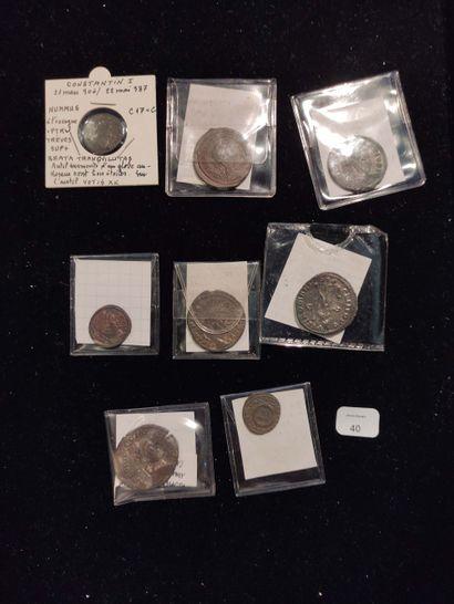 Antoninien: 4 exemplaires. Probus (3 ex.) C. 496, 511 et 644 - Maximien Hercule...